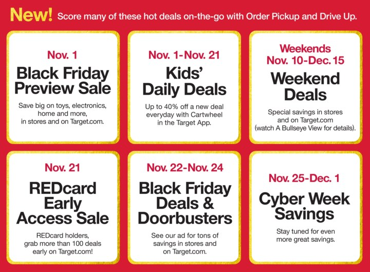 Target Holiday Deals