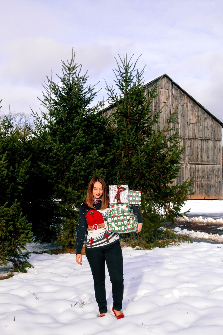Lands End Christmas-Sweater